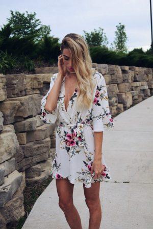 Dress Lily Floral Romper