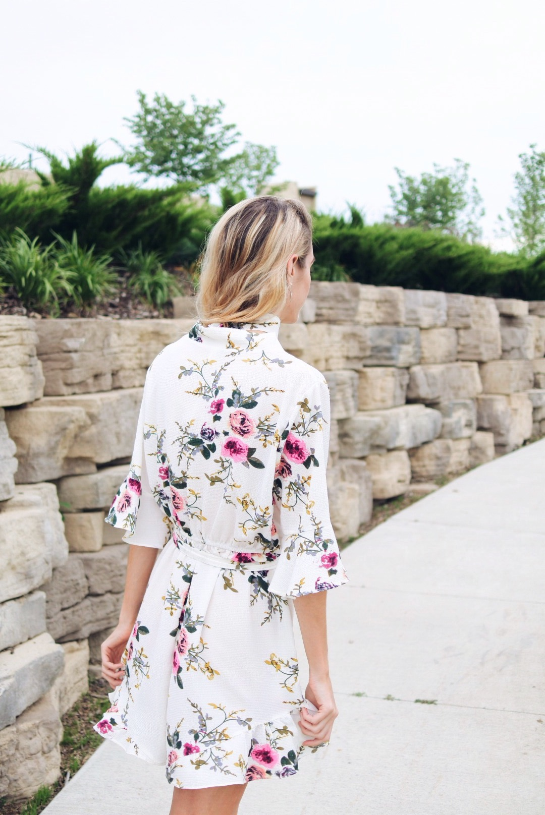 Dress Lily Floral Romper