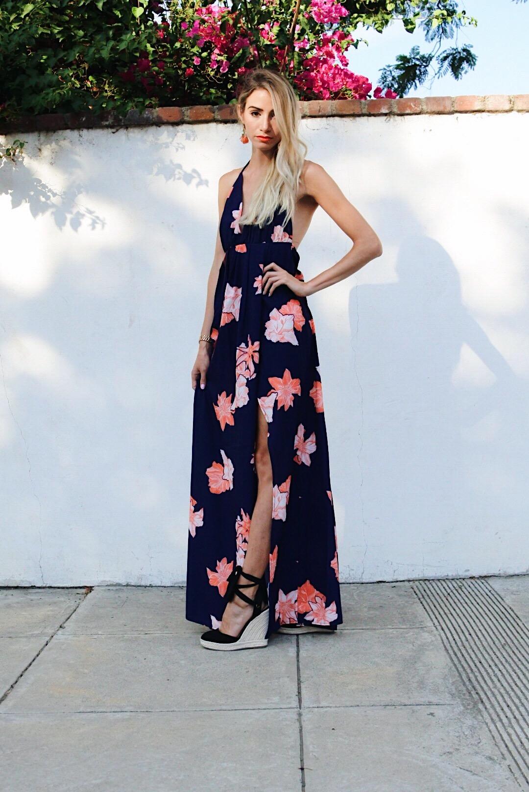 Sassy Maxi Dress