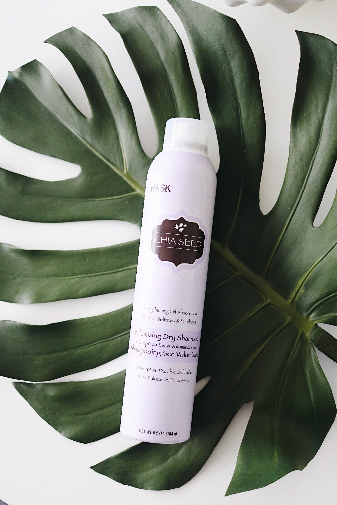A Girls BFF- HASK Dry Shampoo