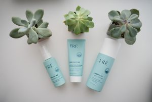 123FRÉ Skincare 3 Step Set for Women Who Workout
