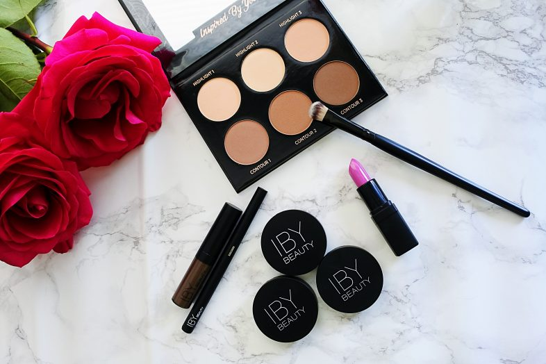 IBY Beauty | Contour Kit | High Intensity Lipstick | Brow Tint | Eyeshadow | Peachy Blush