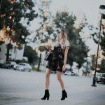Velvet Slip Dress | Velvet Booties