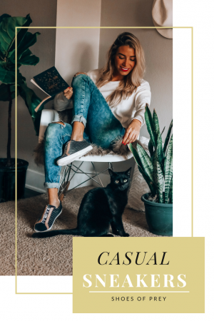 Casual Sneaker Look   Tips on Styling Sneakers   Shoes of Prey   Customize Your Sneakers