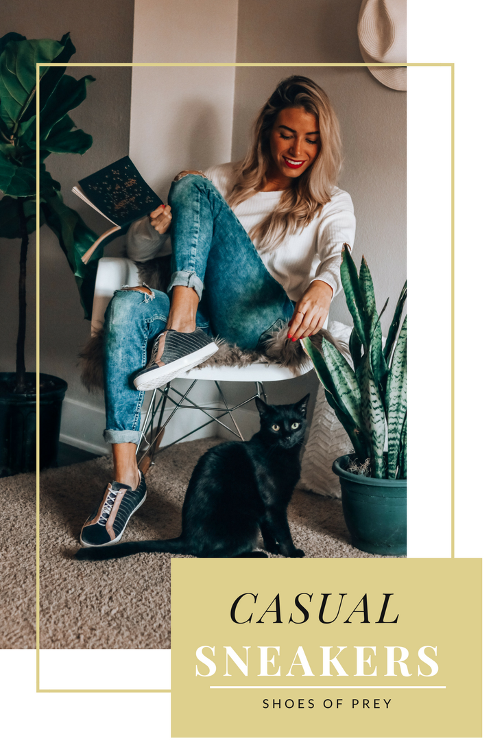 Casual Sneaker Look | Tips on Styling Sneakers | Shoes of Prey | Customize Your Sneakers