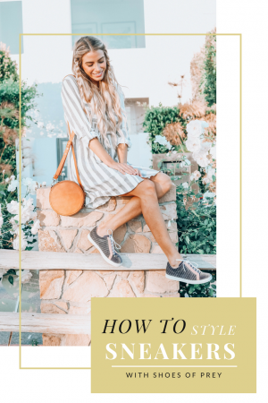 Tips on Styling Sneakers | Shoes of Prey | Customize Your Sneakers