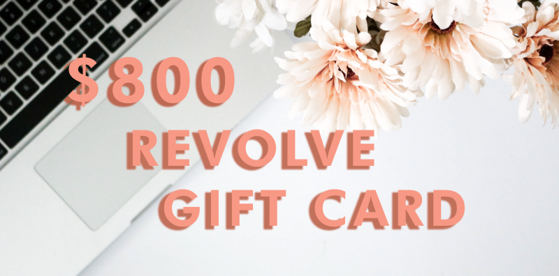 $800 Revolve Gift Card Giveaway
