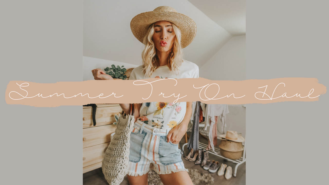 Summer Clothing Try On Haul 2019