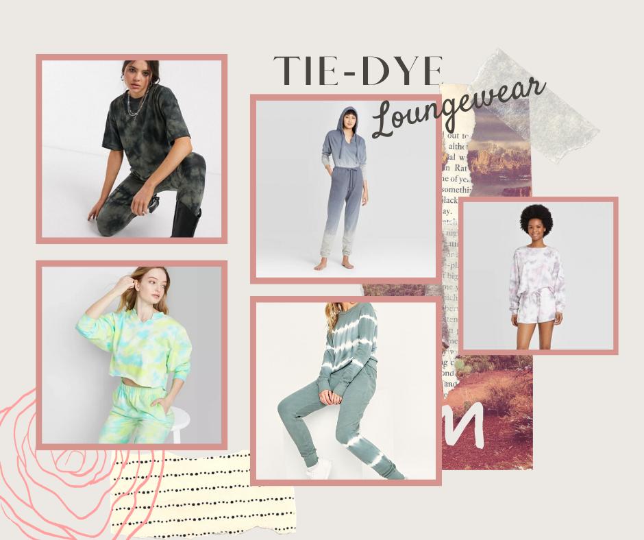 Tie-Dye Loungewear Sets | Tie-Dye Styles | Joggers | @christinemariestyle