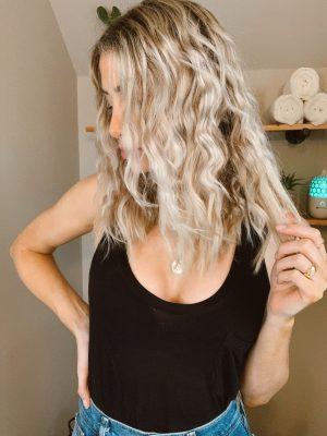 Beach Waves | Curly Wavy Hair | Hair Tutorial | @Christinemariestyle