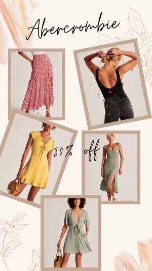 Abercrombie Summer Styles Sale