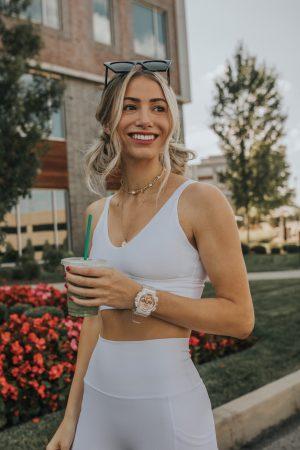 G-Shock Women's Watch Rose Gold Transparent| Water resistant Watch