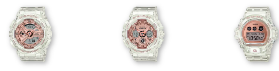 G-SHOCK Women's Watch | Rose Gold Collection| visit. www.gshock.com
