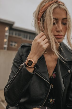 Street Style with G-SHOCK   Learn more at gshock.com   G-SHOCK Women's Watches   Minimalistic Style