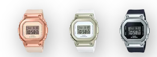 Learn more at gshock.com | G-SHOCK Women's compact Minimalistic Watch