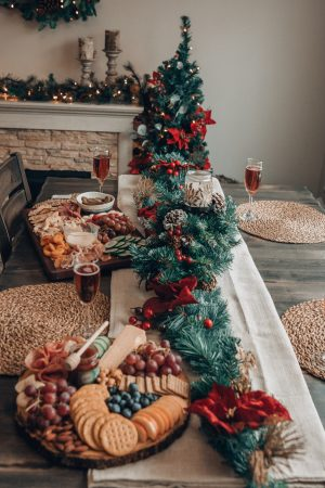 Holiday Decorating | Electric Fireplace | The Home Depot| Holiday Decor| Charcuterie Boards
