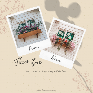 Flower Box   DIY Flower Box   Spring Florals   Home Decor   Porch Decor